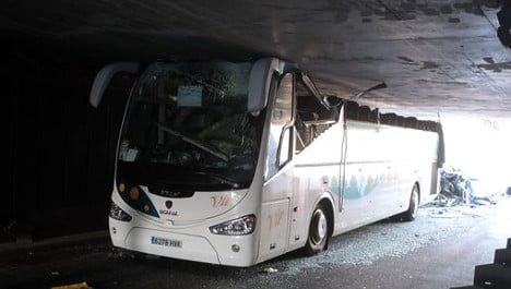France charges Spanish coach crash driver