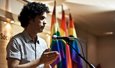 Madrid plaza renamed to honour gay rights hero