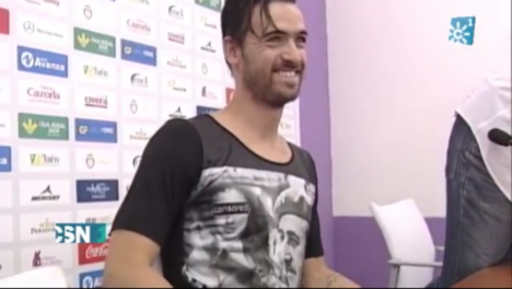 Footballer sparks row by wearing Franco T-shirt