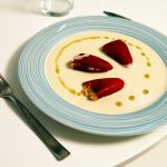 """<b>Ajoblanco.</b> Sometimes called """"white gazpacho"""", this cold garlic soup is popular in Andalusia in southern Spain. In Málaga, it is often served with fresh fruit like apples or melons.Photo: <a href=""""http://bit.ly/1Hs28py"""">Jesús Gorriti</a> / Flickr Creative Commons."""