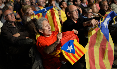 Catalan parties form pact for independence