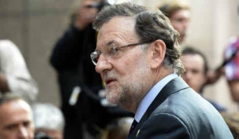 Rajoy to submit Greek debt deal to parliament