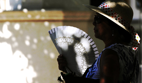 Scorching Spanish heat reaches record highs