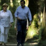 Rajoy and Merkel plan a second holiday together
