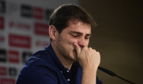 Madrid chief denies Casillas was pushed out