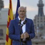"""Raül Romeva is head of the """"Junts pel si"""" (together for yes) campaign in support of Catalan independence and a former member of the EU Parliament with the Catalan Green Party. Photo: Lluis Gene/AFP"""