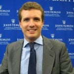 """Pablo Casado, 34, is Vice Secretary General of Communication for Spain's ruling Popular Party. According to Zeleb, he is """"the Harry Styles"""" of his party. Photo: Hotalezano/Wikimedia"""