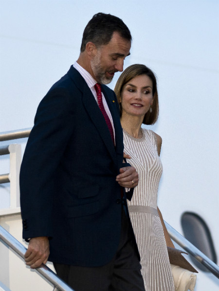 Spanish royals on first state visit to the Americas