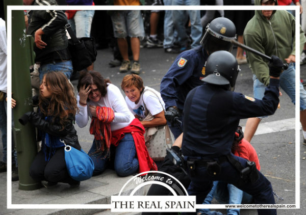 Postcards that lift the lid on the real Spain