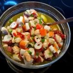 """<b>Salpicón de marisco.</b> Translating to seafood medley, this Spanish dish is made with diced or minced tomatoes, onions, prawns and other seafood.Photo: <a href=""""http://bit.ly/1M8hWSL"""">Alejandro Polanco</a> / Flickr Creative Commons."""