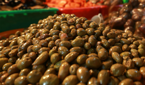 Police discover hashish smuggled into Spain disguised as olives
