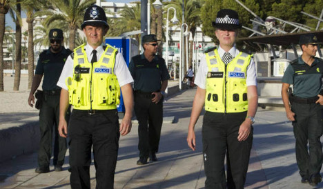Bobbies on the beach won't change Magaluf