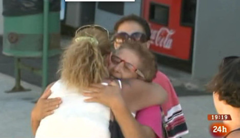 Emotional homecoming for granny jailed for refusal to demolish home