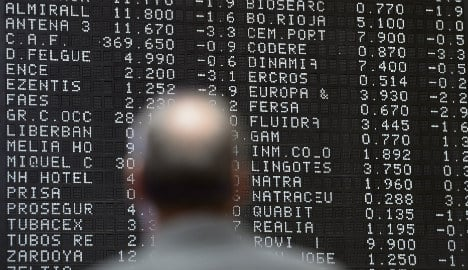 Spain's stock market index takes a plunge as Asia panic grips investors