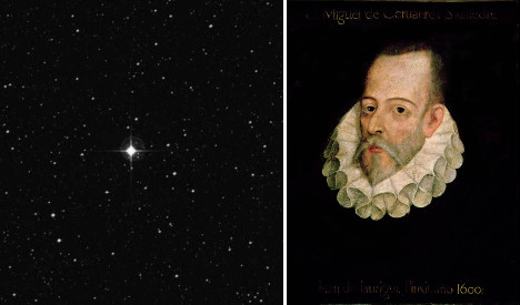 Astronomers on Quixotic quest to immortalize Cervantes with a star