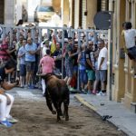 Man gored on bull run while filming on mobile