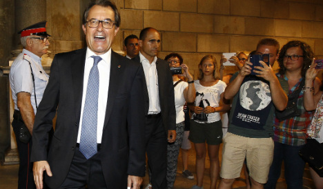 Catalonia calls early poll for independence vote