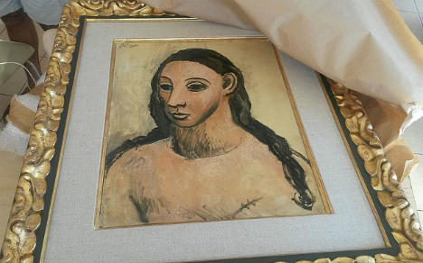 France returns seized Picasso painting to Spain