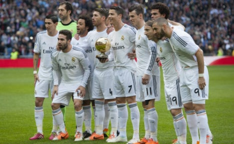 Real Madrid football club join drive to help refugees based in Spain