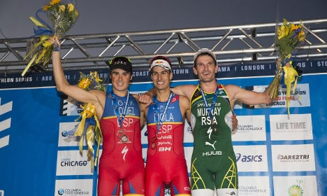 Javier Gomez claims incredible fifth triathlon world crown for Spain