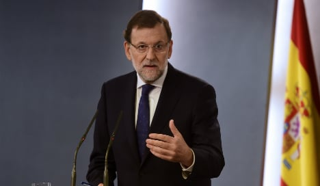 PM Rajoy rules out negotiating with Catalonia over independence split