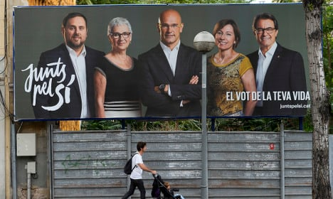 Banks: Catalan independence 'would threaten financial stability'