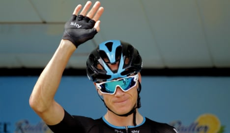 Foot fracture forces Chris Froome to withdraw from the Tour of Spain