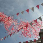 Gibraltar celebrates its National Day on September 10th and on that day every year 30,000 red and white ballons are released into the sky to represent each Gibraltarian citizen. Photo: freddiefraggle / Flickr