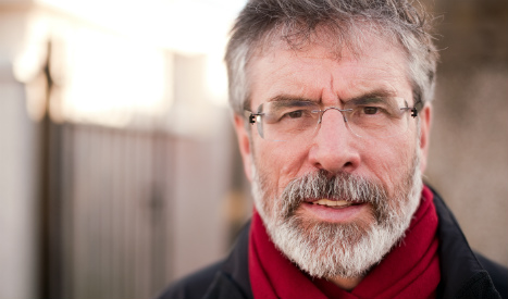 Gerry Adams sends a message of solidarity to the people of Catalonia