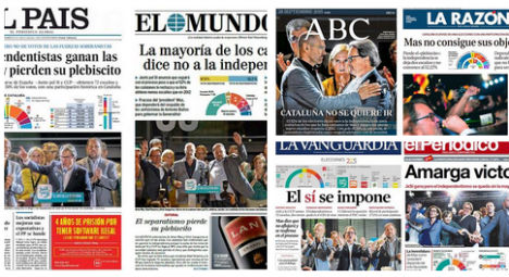 Catalan elections press review: Victory or failure for separatists?
