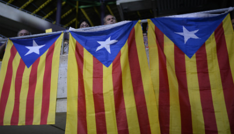 Catalan independence parties look set to win the most seats in election