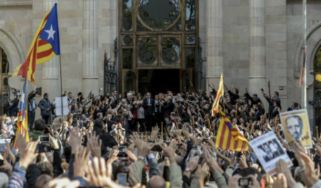 Mas accepts 'full responsibility' for staging Catalan independence vote