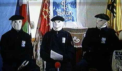 Spain charges suspected Eta leaders with crimes against humanity