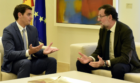 Ciudadanos proposes pact with PM to combat Catalan separatist drive