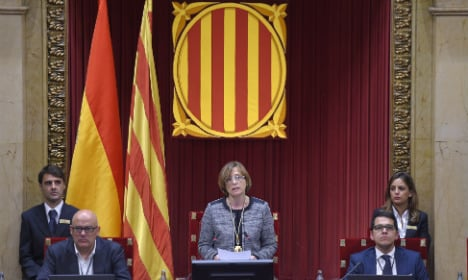 Catalan parliament opens with pro-independence majority but no chief