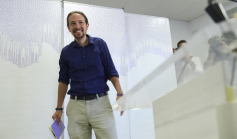 Pragmatic Podemos vows to fight on to end political corruption