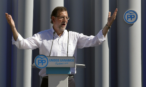 Mariano Rajoy: 'We are party of the moderates in the face of extremists'