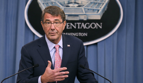 Pentagon chief arrives in Madrid amid Syrian and Afghan crises
