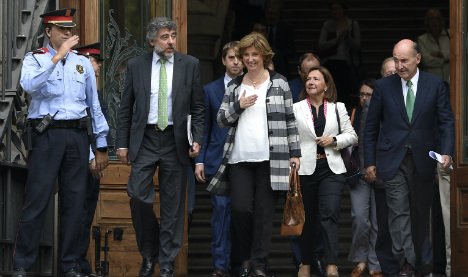 Catalan politicians in court over staging 'illegal' independence vote