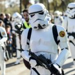 Star Wars: The Force Awakens as fans take to the streets in Barcelona