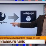 Spanish reporter apologizes after Star Wars symbol used for al-Qaeda