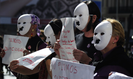 'Black weekend' for Spain as four women killed by domestic violence