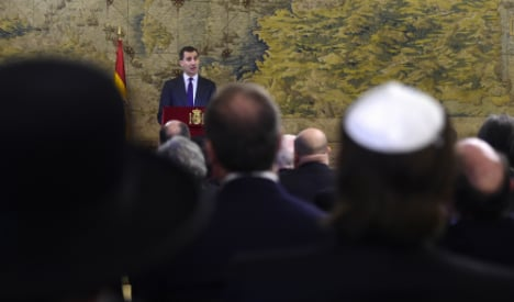 'We've missed you': King honours Jews banished during Inquisition