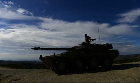 Tank convoy video provokes fears of imminent terror attack in Spain