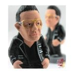 Bono from U2Photo: http://www.caganer.com/
