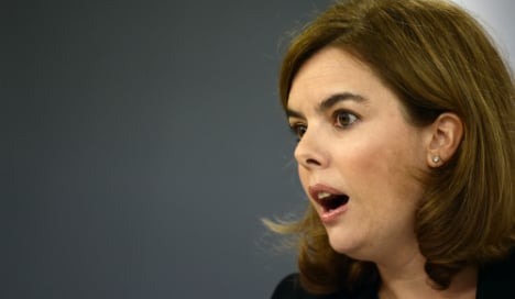 Spanish deputy PM grounded after hot air ballooning stunt backfires