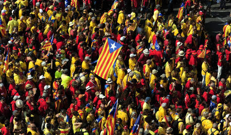 Parties appeal to Spain's top court to block Catalonia secession plan
