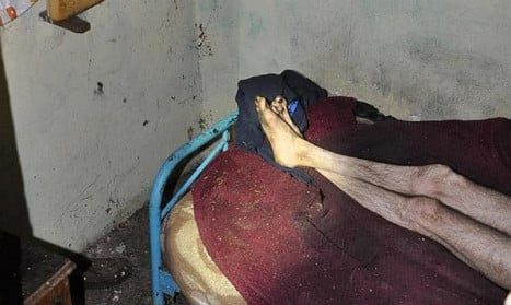Pair arrested for keeping brother in hovel under 'inhuman conditions'