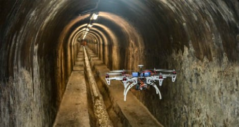 Sewer drones set to take over one of the smelliest jobs in Barcelona