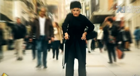 British expat granny takes Spain by storm with incredible dancing stunt
